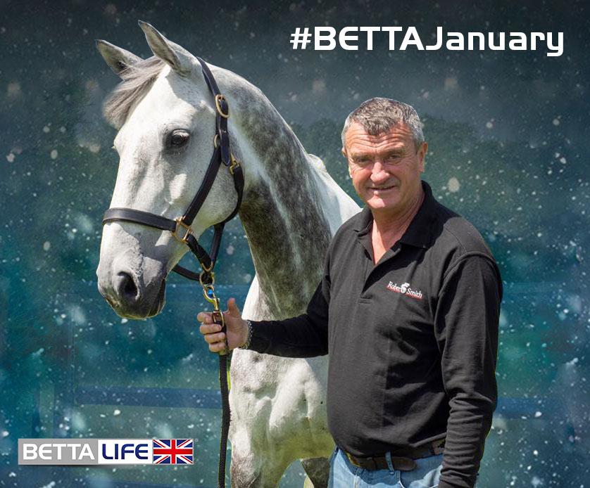win a lesson with robert smith showjumper