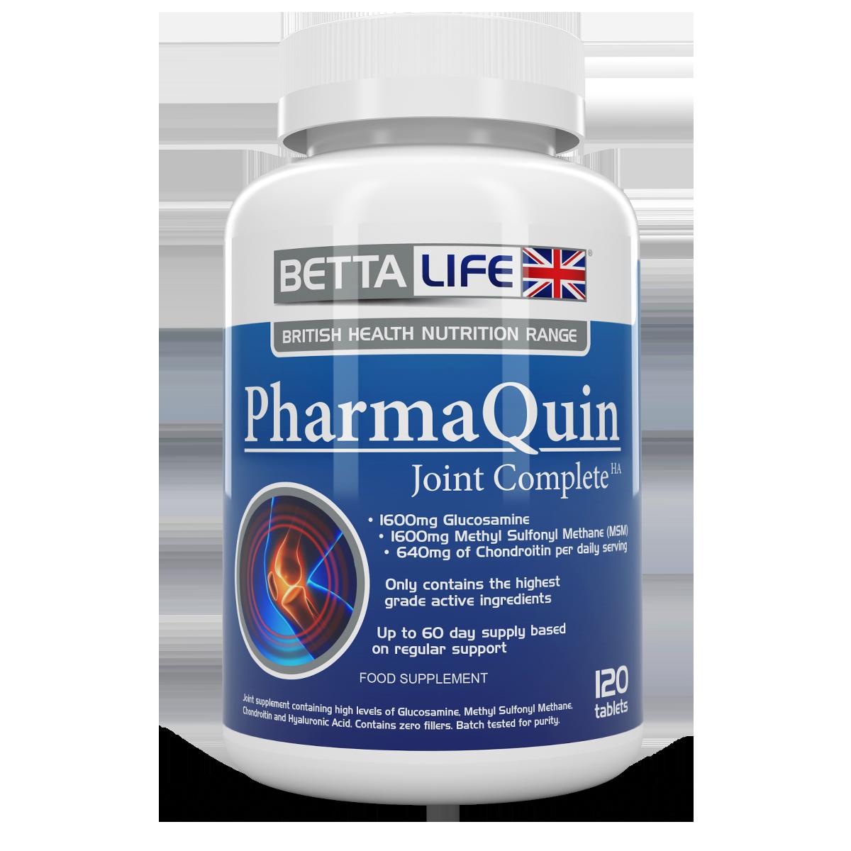 PharmaQuinHuman 120t front