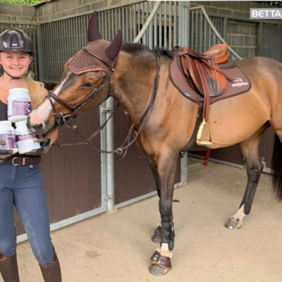 Meet Our Newest Supported Rider – Cerys Withey!
