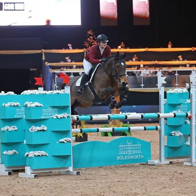 grace wallace at liverpool horse show